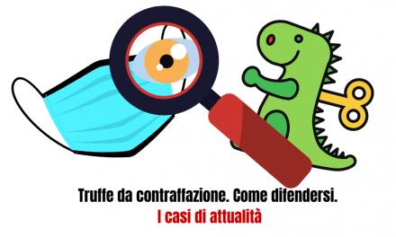 Contraffazione e truffe: il 16 aprile in diretta i consigli per difenderci