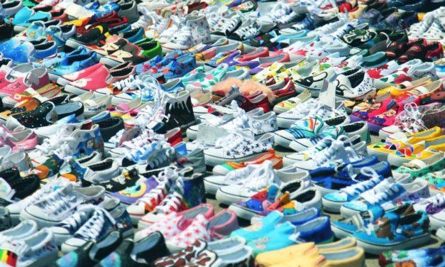 Attenzione all'etichetta per riconoscere le scarpe originali