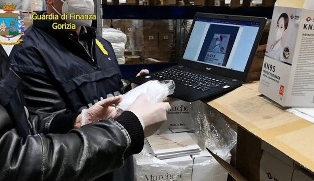 FFP2 e FFP3: 65 milioni di mascherine sequestrare