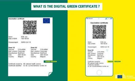 Green Pass UE, cosa è e quali dati contiene